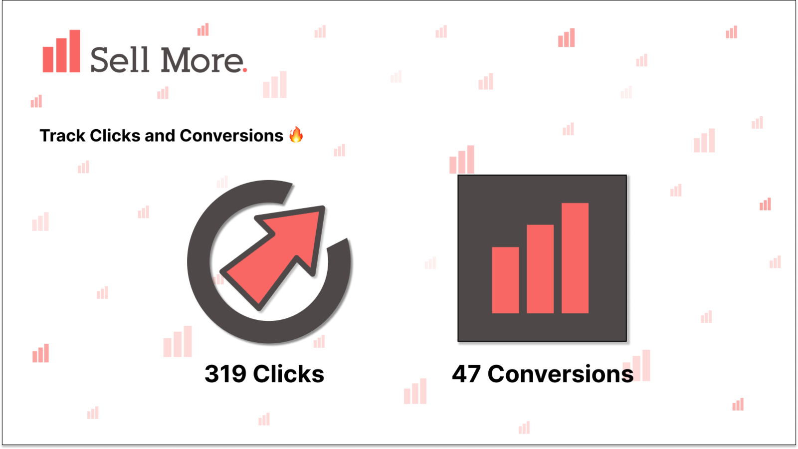 Track your clicks and conversions