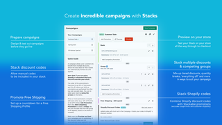 Create incredible campaigns with stacks