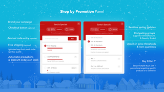 Shop by promotion