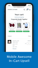 Upsell with Mobile Awesome In-Cart Upsell