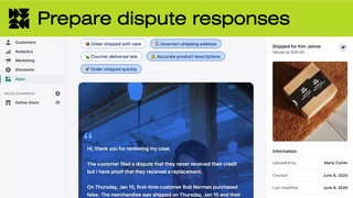 Prepare chargeback responses with our templates