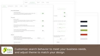 Customizable user interface to suit your store design