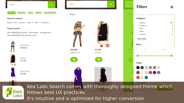 Mobile-optimized Search for Shopify