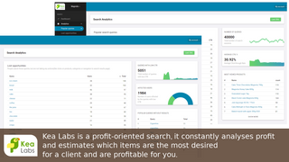 Profit-oriented search. Evaluates profit and trends