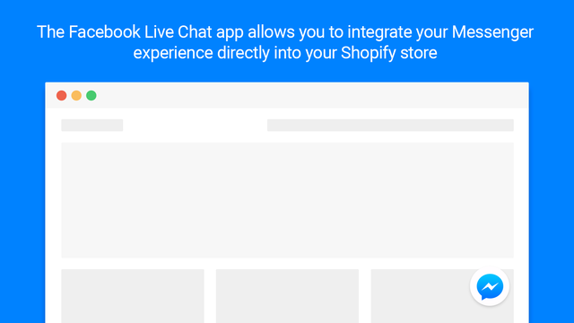 Integrate Facebook Messenger Chat into your Shopify store