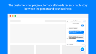 Automatically loads recent chat history