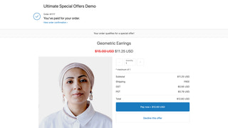 Increase order sizes with a post-purchase upsell