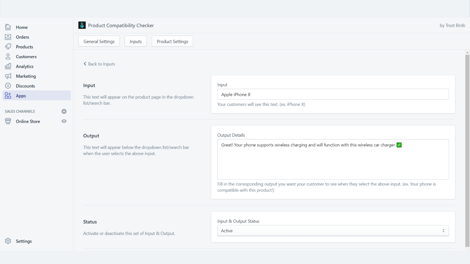 Product Compatibility Checker Inputs Embedded