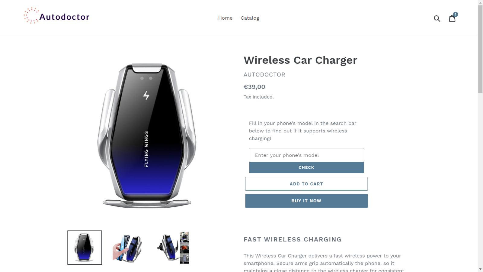 Product Compatibility Checker Car Charger Example Compatibility