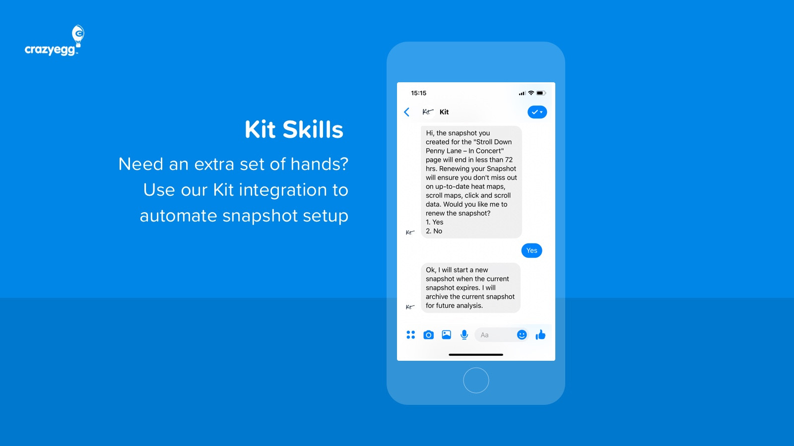 Automated Snapshots with Kit Integration