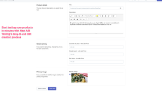 Start optimizing your conversions in minutes with Neat A/B Testi