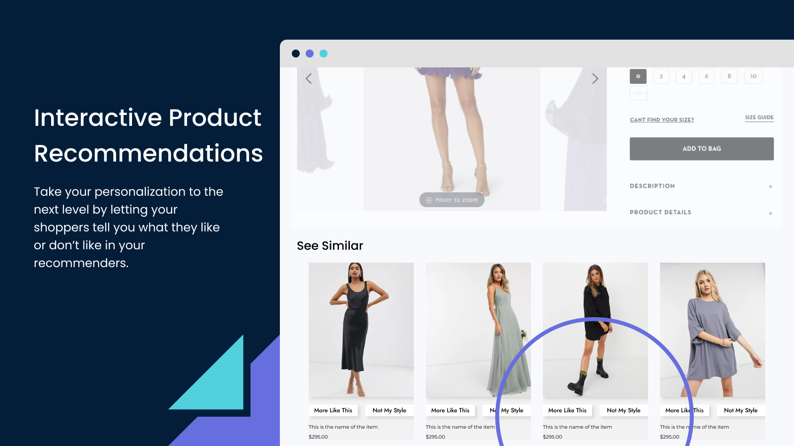 Interactive Product Recommendations