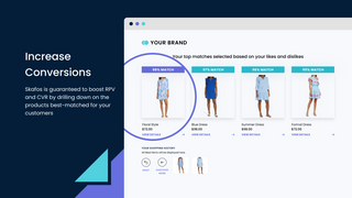 Increase conversions with feedback-based recommendations