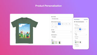 East product personalization