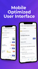 Mobile Optimized User Interface