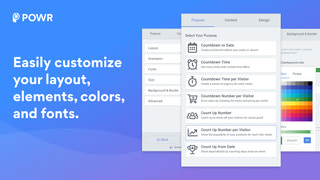 Customize elements to create your perfect form