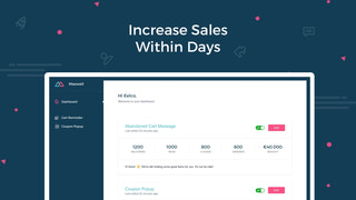 Increase sales within days; it's faster than email marketing