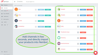 Connect your channels, and get started with just few clicks