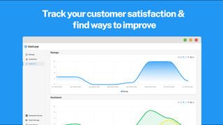 Analytics show you how your customer satisfaction changes
