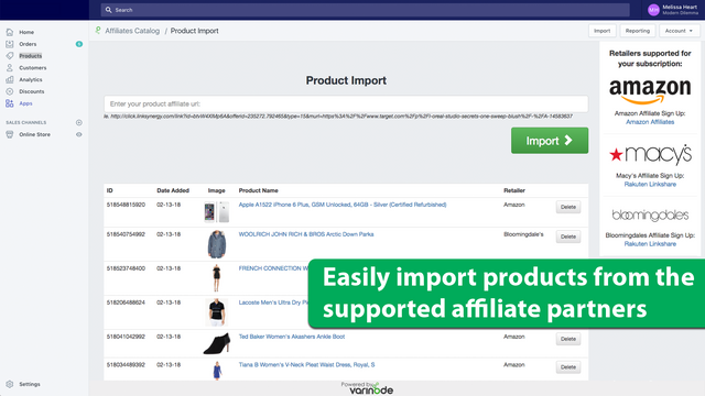 Easy product imports