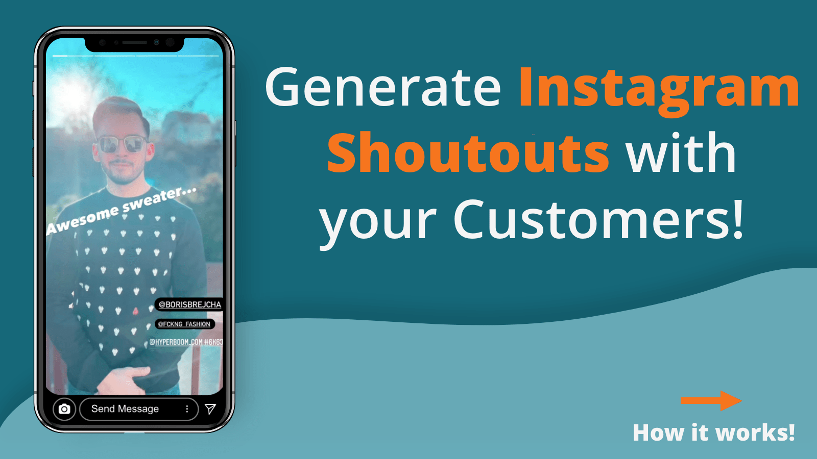 Boost sales authentic nano influencers on Instagram hyper boom