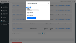 Create smarter collections quickly