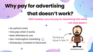 Why pay for advertising that doesn't work?