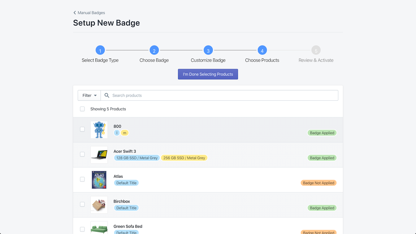 Badgify Apply Badges to Products