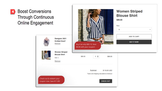 Boost conversions through continuous online engagement