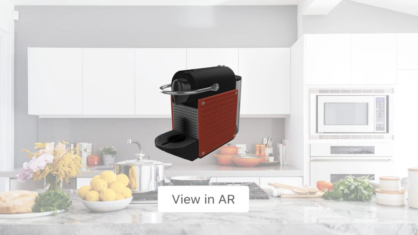 Enable shoppers to place products in their home with AR