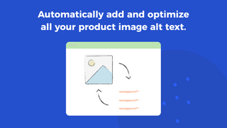 Automatically add and optimize image alt text
