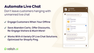 Automate Your Unmanned Live Chat With A Human Touch