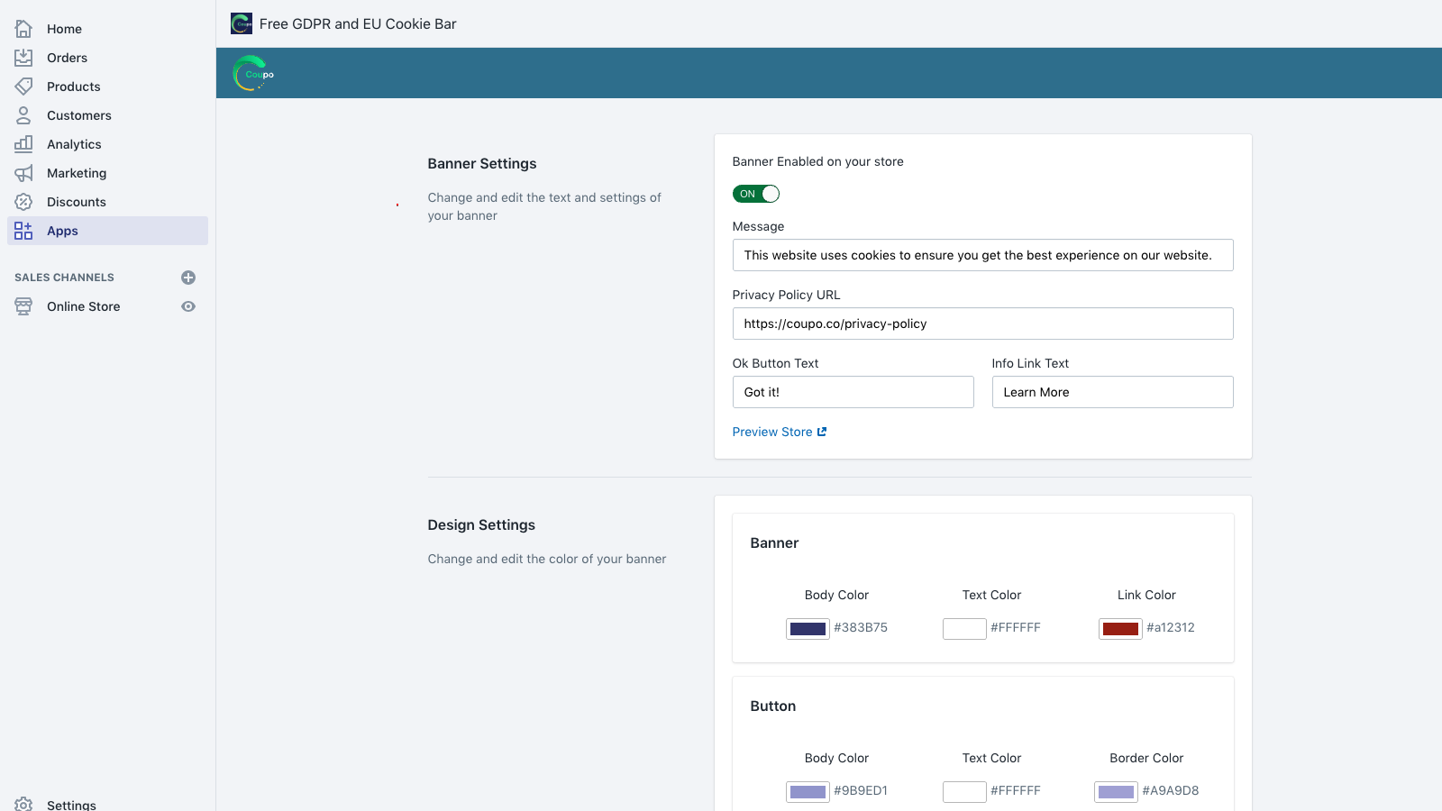 Create a GDPR compliant cookie bar with ease