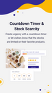 Countdown Timer & Stock Scarcity