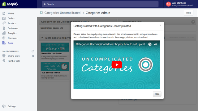 Getting started guide and screencast to help you get set up
