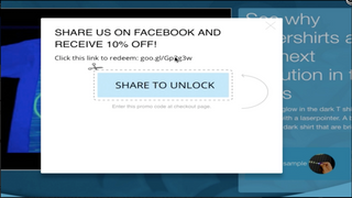 Code the Campaign Link in your own Popup offer