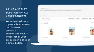 Product size recommender