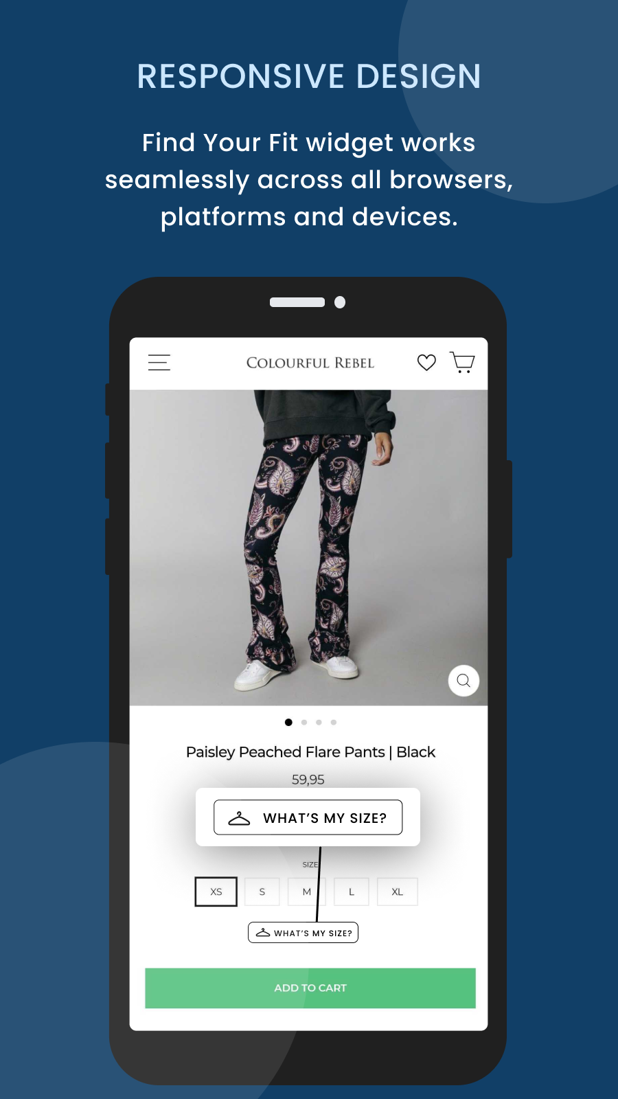 Mobile size recommender