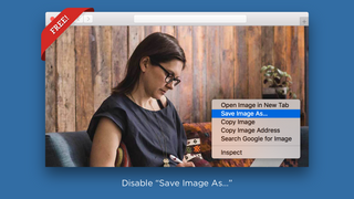"Disable ""Save Image As..."""