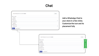 Add WhatsApp Chat & Share to your store