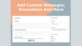 Customize your share buttons