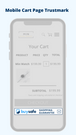 Mobile-ready and responsive trustmarks for your cart page
