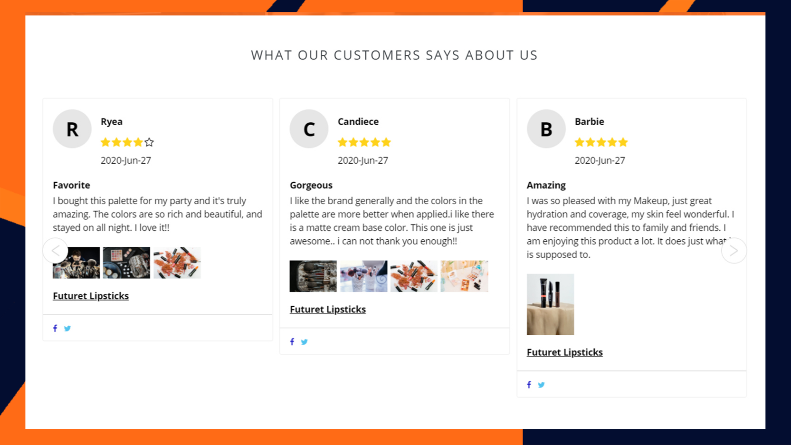 Product Review - Photo Reviews