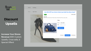 Standard Upsell and Cross-sells with Smart Cart Bundles