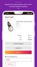 zipcode search on cart page