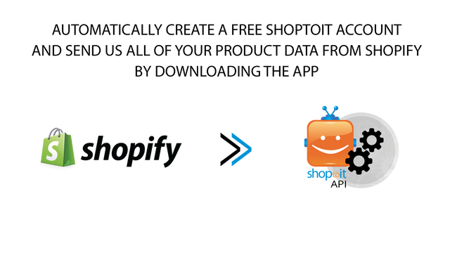 Automatically create an account populated with all your products