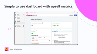 Simple, easy to use dashboard with high level of customization