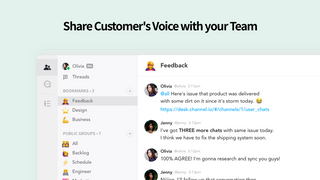 Share Customer's Voice with your Team