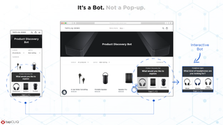 It's a Bot. Not a Pop-up.