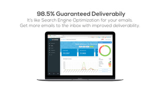 Emailable - 98.5% guaranteed deliverability